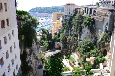 View from Monte Carlo Train Station