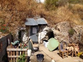 Çingene evleri - Sacromonte