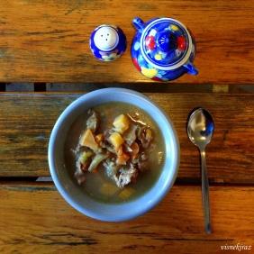 Kuzu etli çorba - Kjötsúpa
