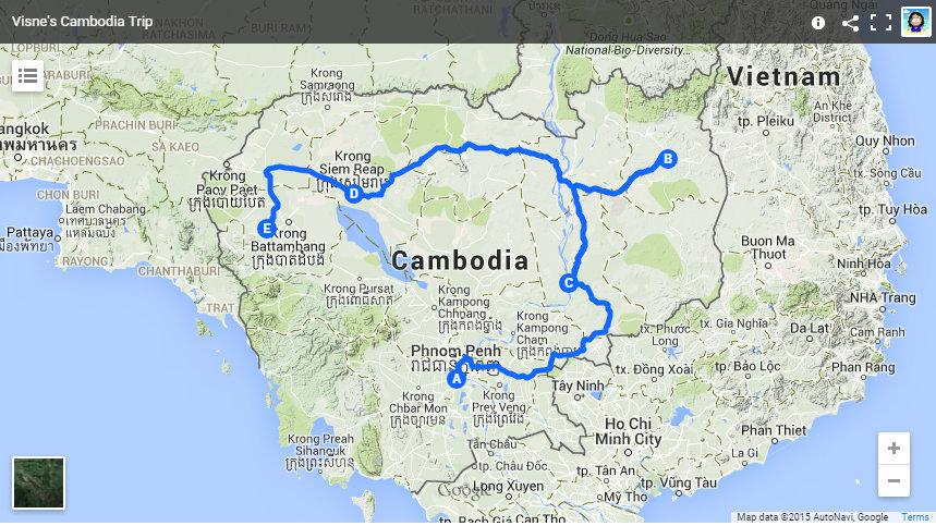 Visne's Cambodia Trip
