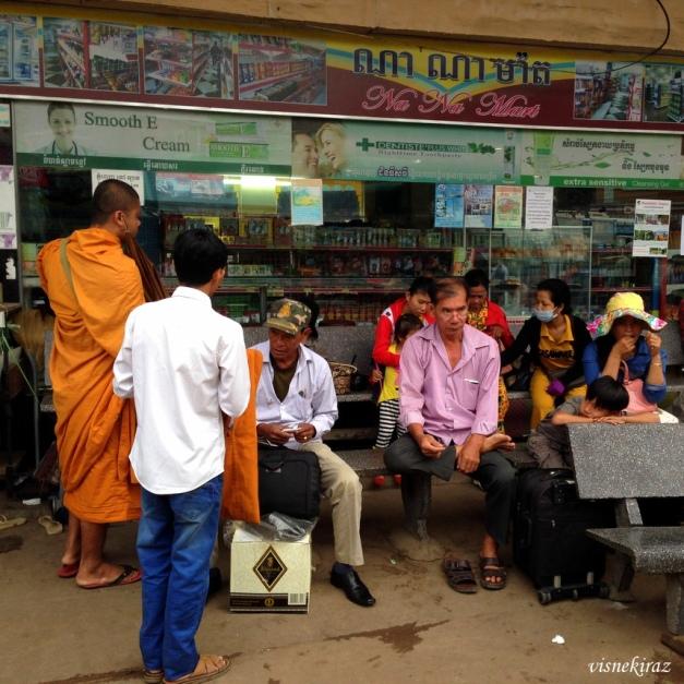 Phnom Penh otobüs terminali