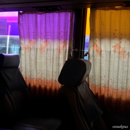 Eski otobüslerden detay